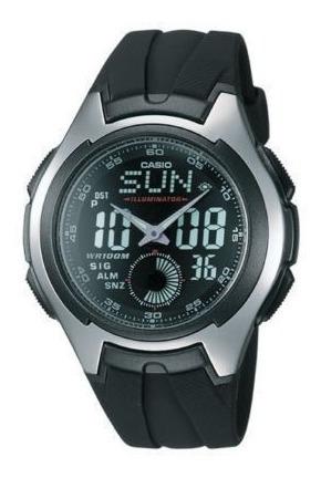 reloj casio aq160w-1bv men sport aq-160w-1bv