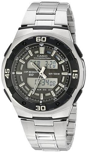 reloj casio aq164wd-1av masculino