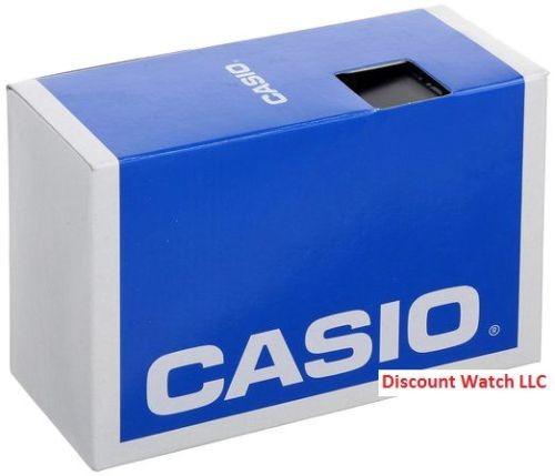 reloj casio aq180wd-7b mens analog digital stainless steel