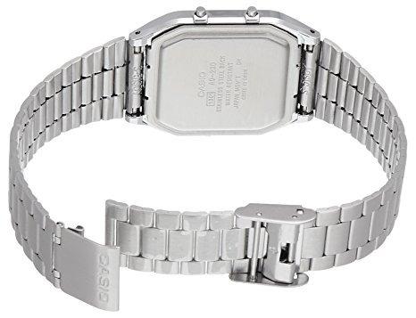 reloj casio aq230a1d plateado masculino