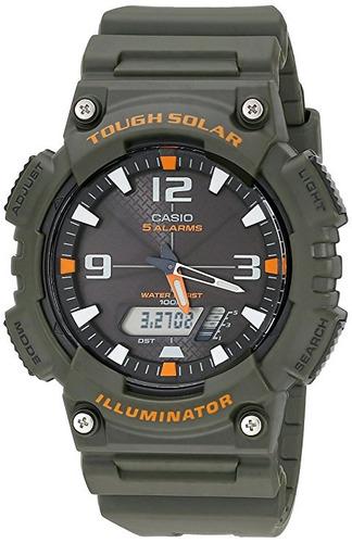 reloj casio aqs810w-3avcf negro negro