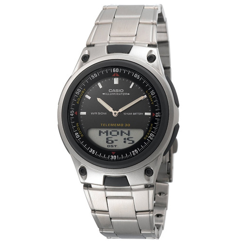 reloj casio aw-80 metalico nuevo 100% original