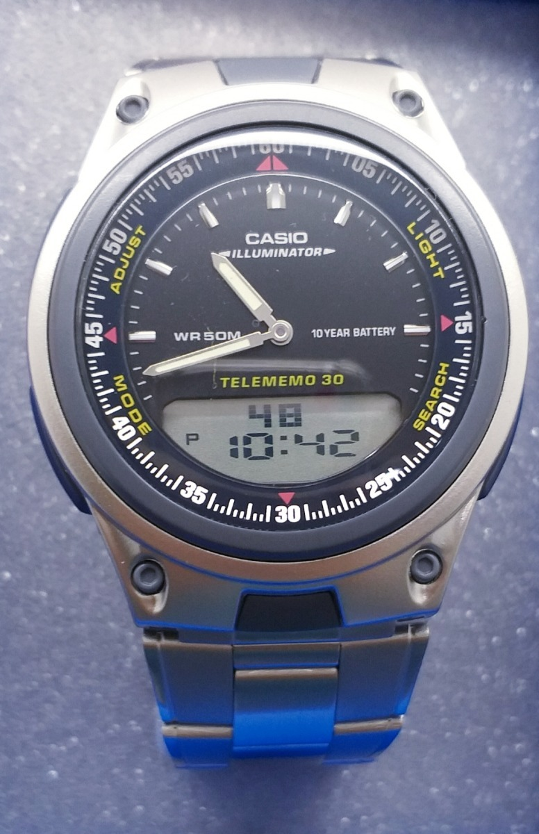 Reloj Casio Aw 80d 1a