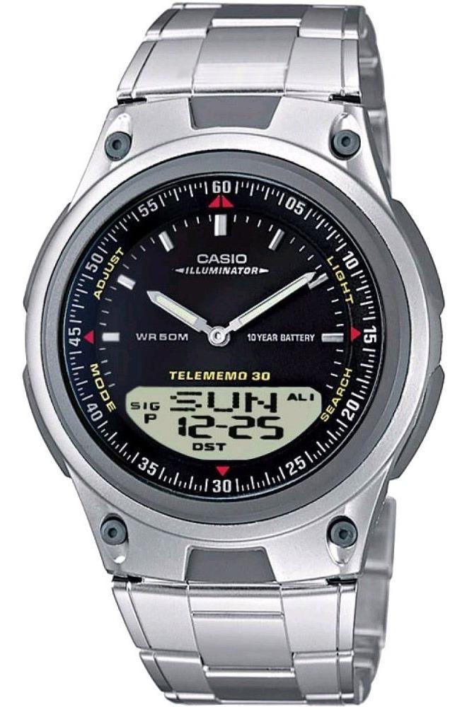 Reloj Casio Aw 80d 1a Telememo30 Comercio Oficial Autorizado