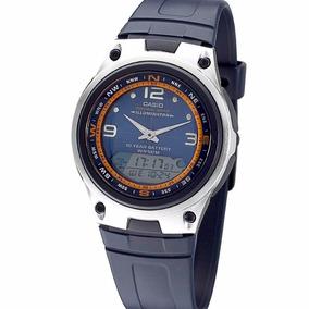 Calendario Lunar 2020 Pesca.Reloj Casio Aw 82 Caza Pesca Fase Lunar Mareas Pila 10 Anos
