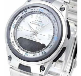 Calendario Lunar 2020 Pesca.Reloj Casio Aw 82d Hombre Alarma Pesca Lunar Sumergible 50