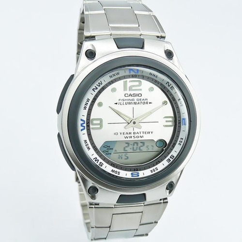 reloj casio aw82 - fases lunares - led - 100% original cfmx