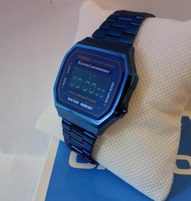 Morado Vendido Dorado Reloj Casio El Azul Mas Rosa Nwnvym8O0