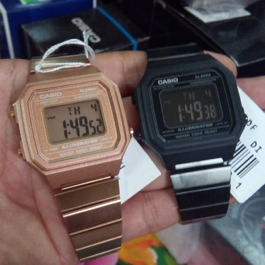 515f506fbfd4 Reloj Casio B-650wb-1b Retro Orig. Local Barrio Belgrano -   4.370 ...