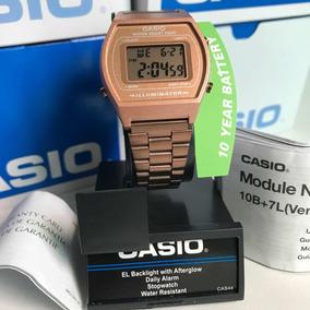 bbf8861fcd3f Reloj Casio Rosa Plastico - Relojes en Mercado Libre México