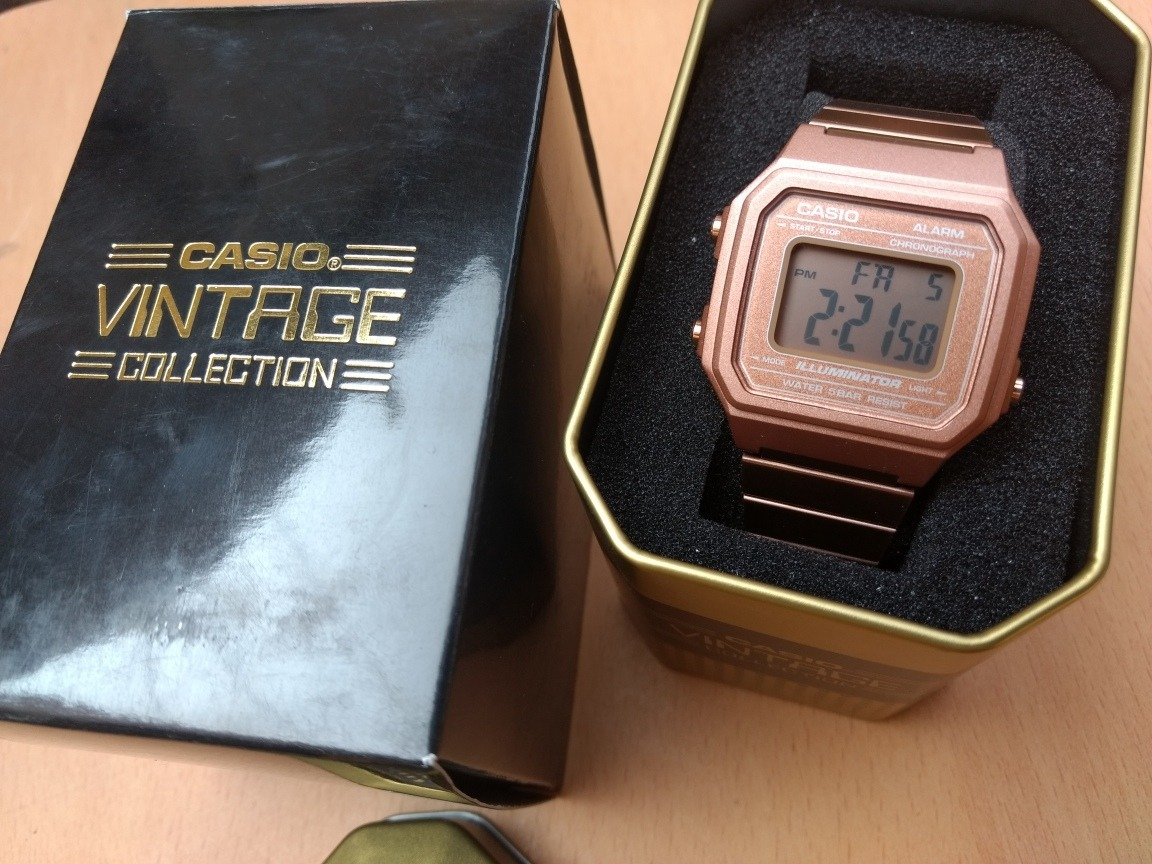 3b1a4161ef64 reloj casio b650 rosado original caja vintage. Cargando zoom.