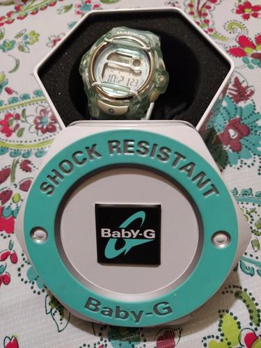 reloj casio baby-g azul bg56012b