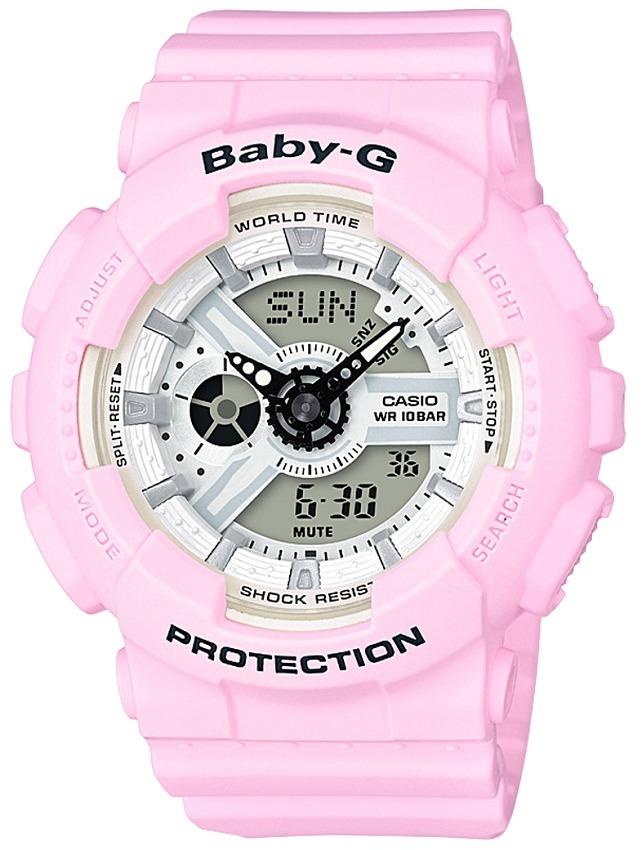 Reloj Casio Baby G Ba-110be-4a Rosado Para Mujer -   449.900 en ... 04b7bfe7e012