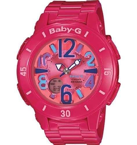 reloj casio baby g  bg171-4b1cr rosado
