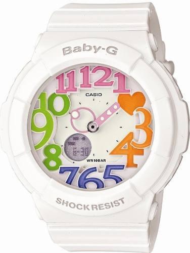 reloj casio baby-g  bga-131-7b3jf blanco