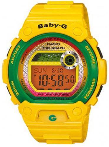 reloj casio baby-g  #blx1009 femenino