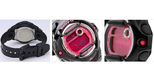reloj casio baby-g digital para mujer bg-169r-1b