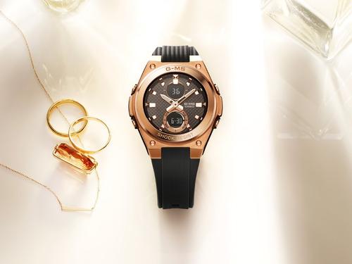 reloj casio baby-g g-ms msg-c100g-1a