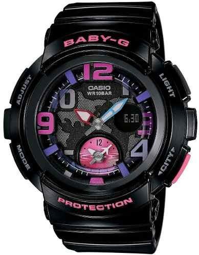 reloj casio baby-g negro