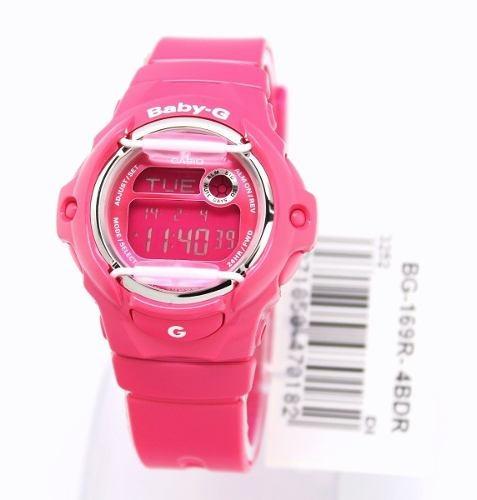 reloj casio- baby-g rosado