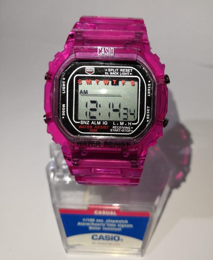 Reloj Casio Baby G-shock Vintage Rosa -   399.00 en Mercado Libre cc600f89541a