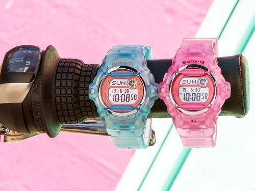 reloj casio baby-g splash bg-169r-2cc