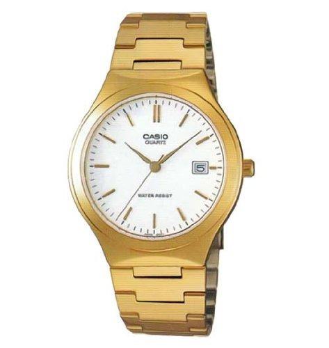 reloj casio  batons - mtp n-7a -dorado
