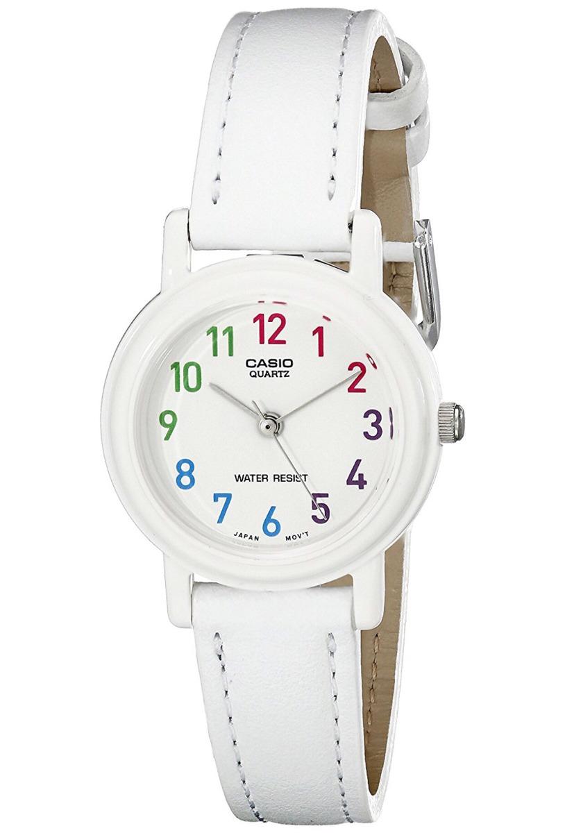 f310eda8f641 Reloj Casio Blanco Para Dama Lq-1391-7bcf -   700.00 en Mercado Libre