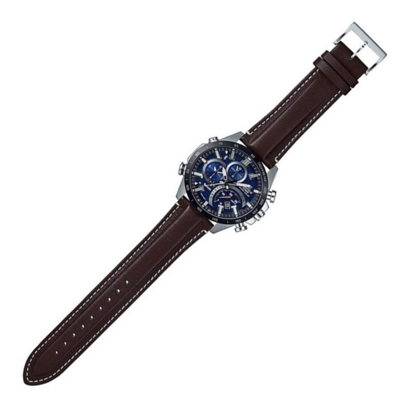 Reloj Casio Bluetooth, Eqb 501xbl 2a Solar Indicador De Vel.