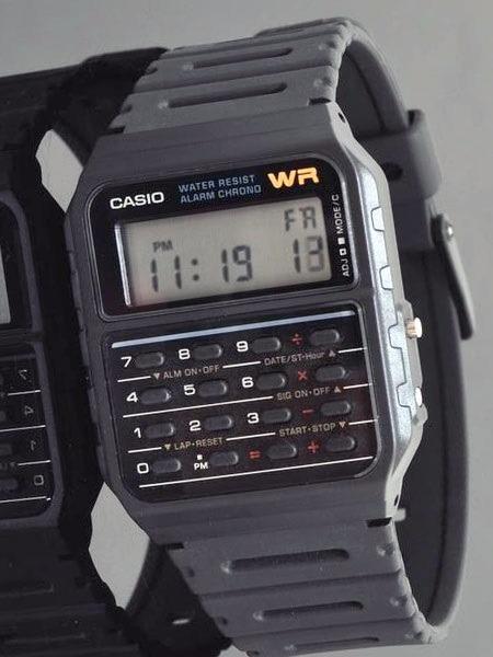 5 Envío Pila Años Casio Original Hoy Reloj Calculadora Ca53w QrdxWEBeoC