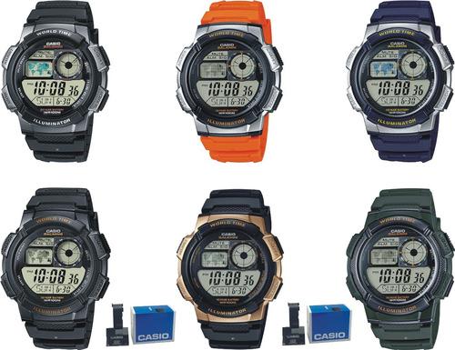 reloj casio caballero ae1000 wr100  oferta !!