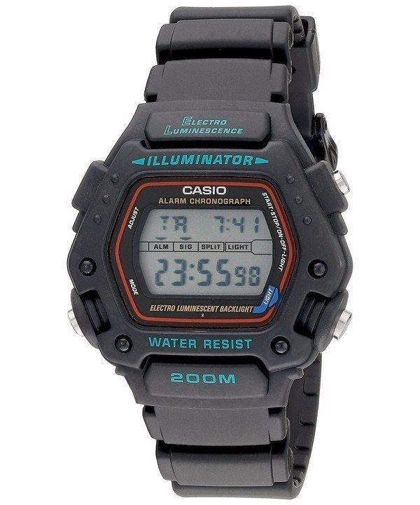 99794fde1660 Reloj Casio Caballero Digital Alarma Crono Luz Mod Dw-290-1 ...