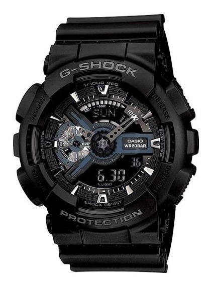 Reloj Casio Caballero Original Goma G shock Cas 111