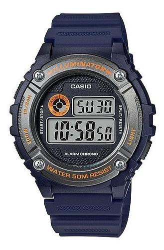 reloj casio caballero w-216h-2bv