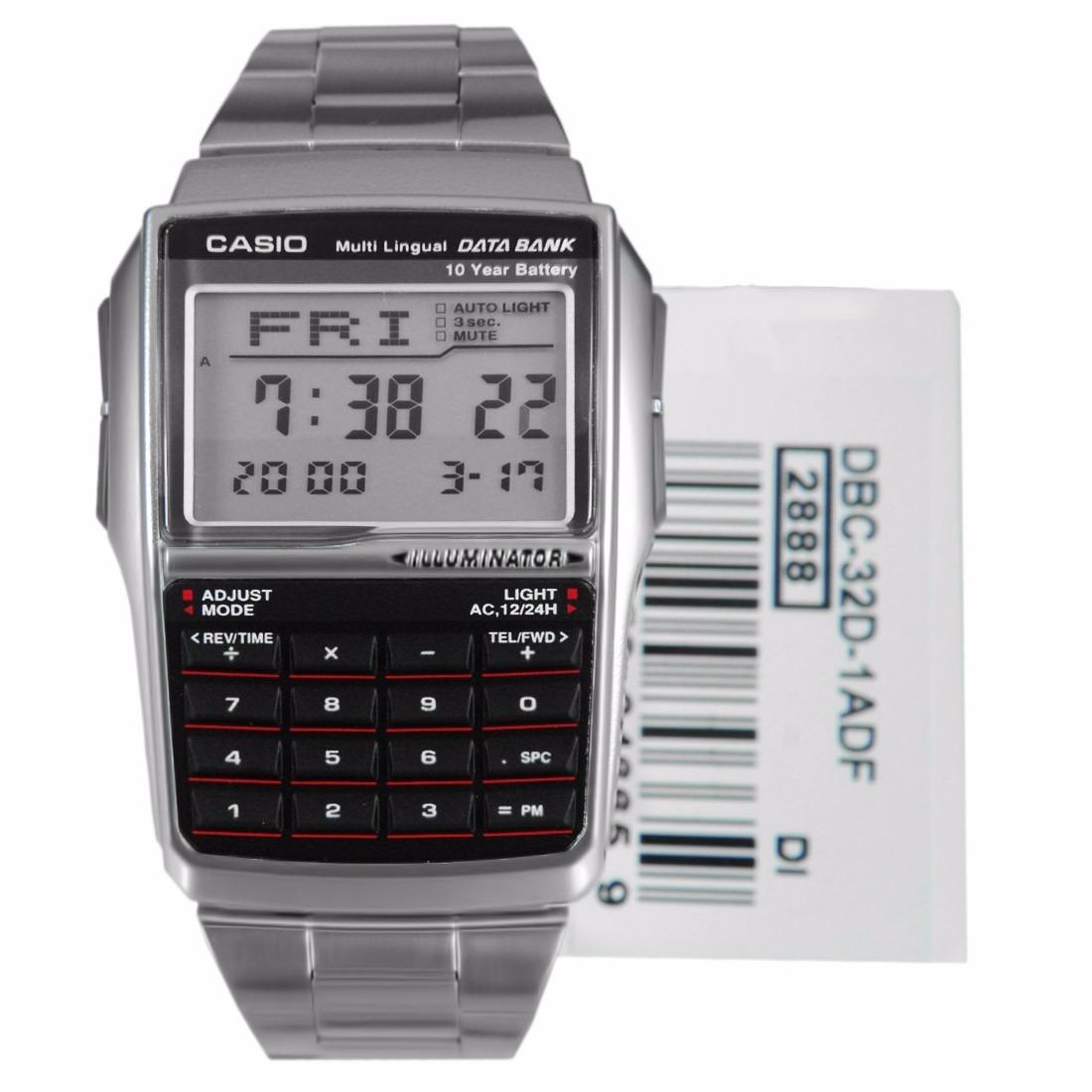 fed251d3b3e1 Reloj Casio Calculadora Databank Dbc-32d Original 100% -   114.900 ...