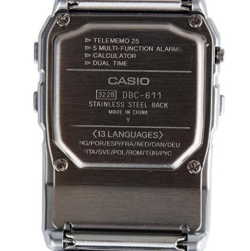 5871e81db58f Reloj Casio Calculadora Retro Dbc-611-1df -   6.400