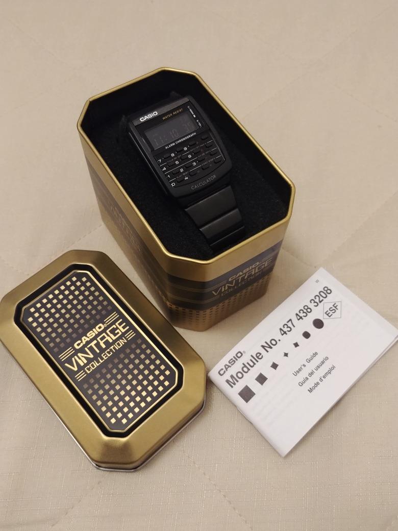 0ab3306304a2 Reloj Casio Calculadora Retro Vintage Ca 506 Metalico. -   950.00 en ...