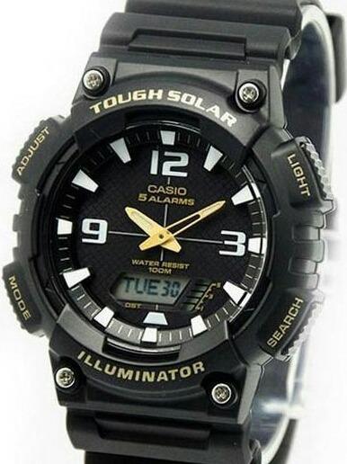 9ab6a80bd3e6 Reloj Casio Carga Solar Hombre Aq-s810w-1b -   5.999