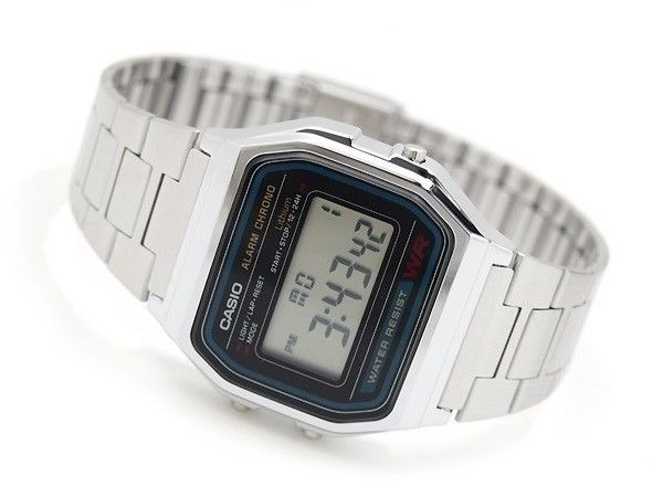 0683ded55af9 Reloj Casio Casio A158w Metalico Plateado Nuevo -   15.000 en ...