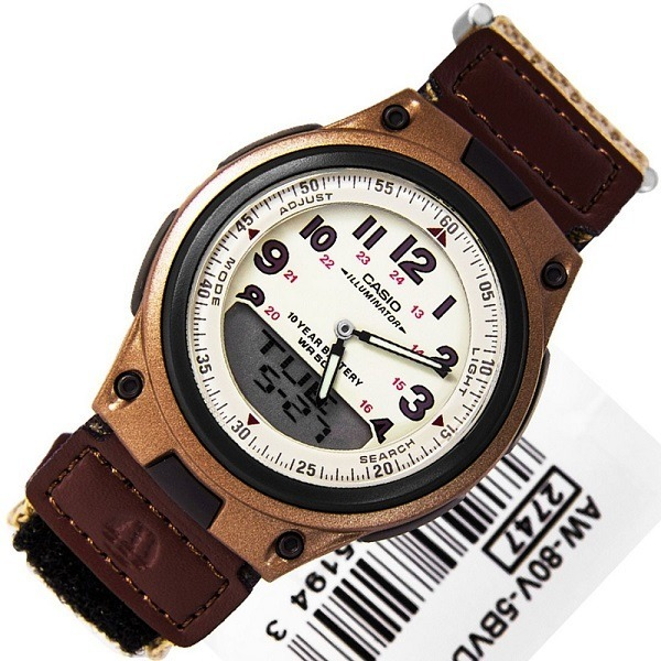Caballero Casio Reloj Deportivo 3b CoVerde Cr Aw80v Casual kiOPuTwZX