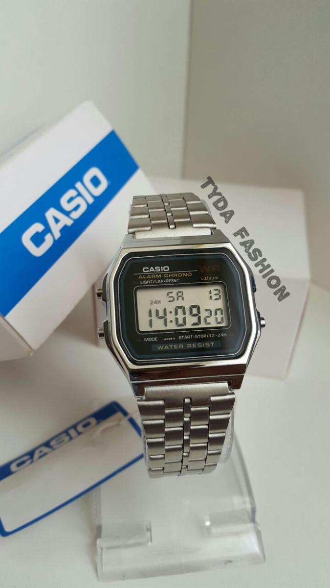 6b1abb3d8e56 reloj casio clasico color plateado nuevos!! Cargando zoom.