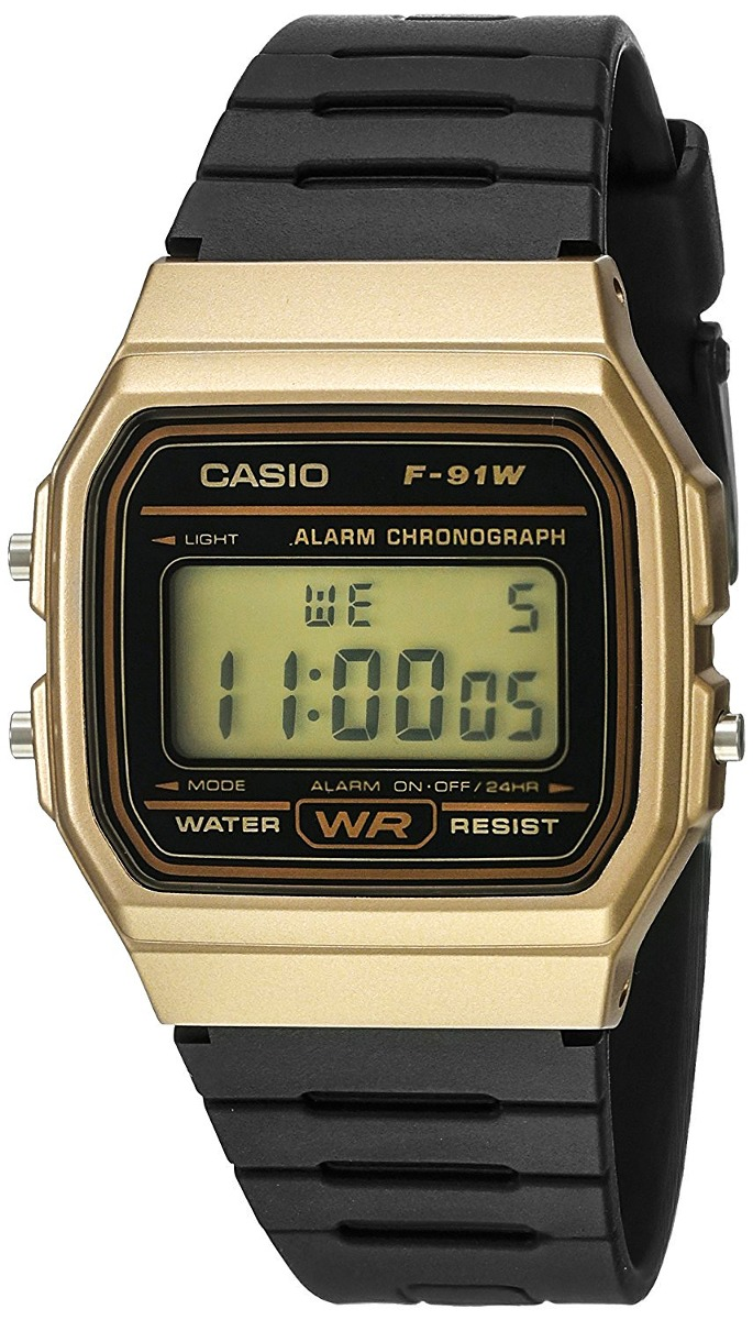 317356c02cad reloj casio clasico f91 vintage dorado original envío gratis. Cargando zoom.
