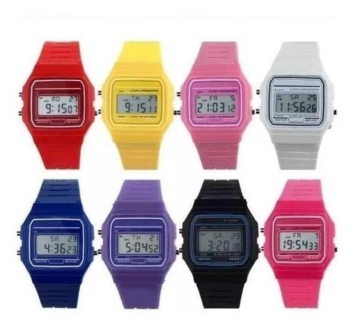 reloj casio clasico retro vintage unisex varios colores