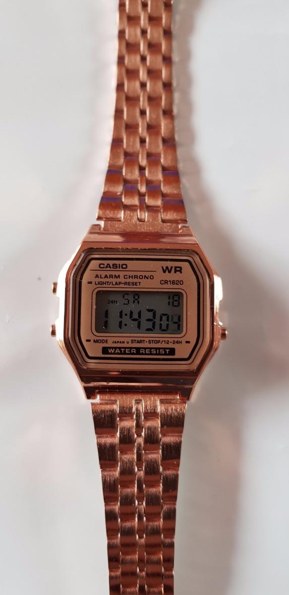 Reloj casio clasico vintage retro rosa mujer envio gratis - Relojes grandes de pared vintage ...
