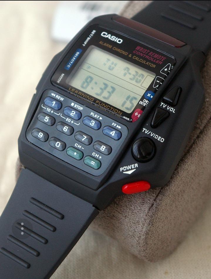 b7c59cdedb8d reloj casio control remoto y calculadora original coleccion. Cargando zoom.