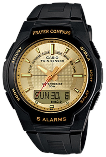reloj casio core cpw500h-9av masculino
