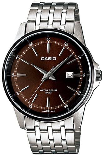 reloj casio core mtp1344ad-5a1v plateado masculino