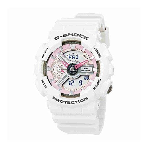 3733a63966a1 Reloj Casio Cuarzo G-shock Rosa Y Gris Dial Blanco -   522.900 en ...