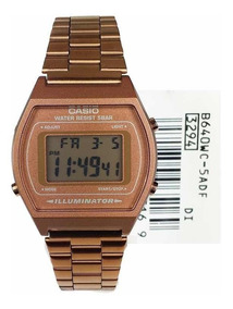 Casio Dama B640wc Oro 5a Reloj Retro Rose 6gbf7y