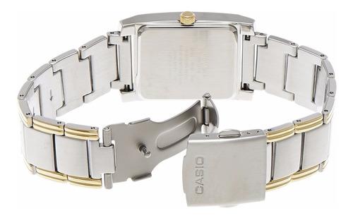 reloj casio dama bicolor bel 100sg  100% original